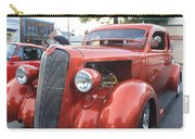 1936 Plymouth Two Door Sedan Front And Side View Carry-all Pouch