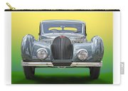 1937 Bugatti 57 S C Atalante Carry-all Pouch