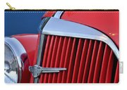1937 Chevrolet Hood Ornament Carry-all Pouch by Jill Reger