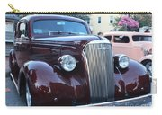1937 Chevy Two Door Sedan Front And Side View Carry-all Pouch