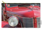 1937 Desoto Front Grill And Head Light-7289 Carry-all Pouch