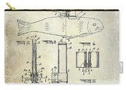 1937 Fishing Knife Patent Carry-all Pouch