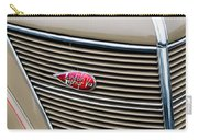 1937 Lincoln-zephyr Coupe Sedan Grille Emblem - Hood Ornament Carry-all Pouch