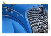 1937 Peugeot 402 Darl'mat Legere Special Sport Roadster Recreation Grille Emblem Carry-all Pouch