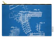 1937 Police Remington Model 8 Magazine Patent Artwork - Blueprin Carry-all Pouch