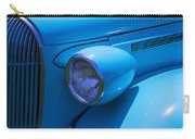 1938 Blue Plymouth Coupe Carry-all Pouch
