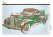 1938 Cadillac Lasalle Antique Pop Art Carry-all Pouch
