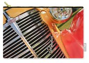 1938 Chevrolet Coupe Grille Emblems Carry-all Pouch