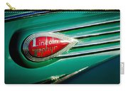 1938 Lincoln Zephyr Emblem Carry-all Pouch