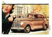 1939 - Plymouth Automobile Advertisement - Color Carry-all Pouch