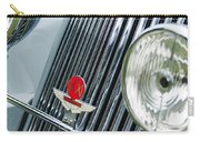 1939 Aston Martin 15-98 Abbey Coachworks Swb Sports Grille Emblems Carry-all Pouch