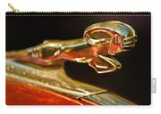1939 Dodge Business Coupe V8 Hood Ornament Carry-all Pouch by Jill Reger