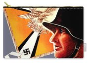 1939 German Luftwaffe Recruiting Poster - Color Carry-all Pouch