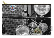 1939 Jaguar S100 Roadster Replica Carry-all Pouch