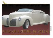 1939 Lincoln Zephyr Poster Carry-all Pouch