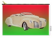 1939 Lincoln Zephyr Speedster Carry-all Pouch by Jack Pumphrey