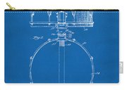 1939 Snare Drum Patent Blueprint Carry-all Pouch