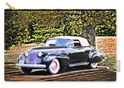 1940 Cadillac Coupe Convertible Carry-all Pouch