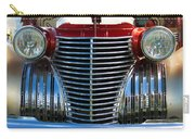 1940 Cadillac Coupe Front View Carry-all Pouch