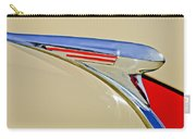 1940 Chevrolet Pickup Hood Ornament 2 Carry-all Pouch by Jill Reger