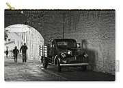 1940 Chevrolet Pickup Truck In Alcatraz Prison Carry-all Pouch by RicardMN Photography