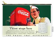 1940 - Coca-cola Advertisement - Color Carry-all Pouch