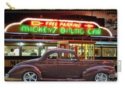 1940 Ford Deluxe Coupe At Mickeys Dinner  Carry-all Pouch