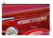1940 Gmc Side Emblem Carry-all Pouch