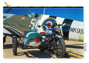 1940 Triumph And Supermarine Mk959 Spitfire  Carry-all Pouch