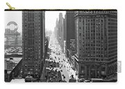 1940s Downtown Skyline Michigan Avenue Carry-all Pouch