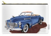 1941 Cadillac Series 62 Convertible Carry-all Pouch