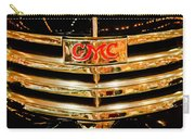 1941 Gmc Suburban Woody Wagon Grille Emblem Carry-all Pouch