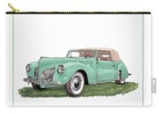 1941 Lincoln V-12 Continental Carry-all Pouch