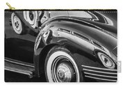 1941 Packard 110 Deluxe -1092bw Carry-all Pouch