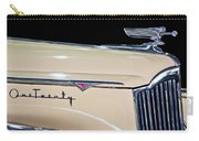 1941 Packard Hood Ornament Carry-all Pouch by Jill Reger