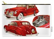 1941 V 12  Lincoln Continental Carry-all Pouch
