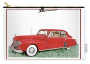 1942 Lincoln Continental Coupe Carry-all Pouch