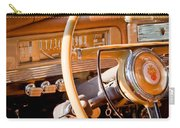 1942 Packard Darrin Convertible Victoria Steering Wheel Carry-all Pouch