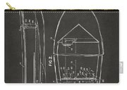 1943 Chris Craft Boat Patent Artwork - Gray Carry-all Pouch