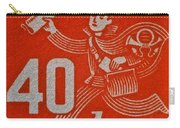 1945 Czechoslovakia Newspaper Stamp Carry-all Pouch