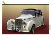 1947 Bentley M K  5   G T X  Carry-all Pouch