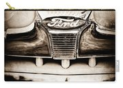 1947 Ford Deluxe Grille Grille Emblem Carry-all Pouch