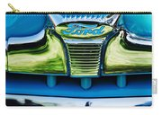 1947 Ford Deluxe Grille Ornament -0700c Carry-all Pouch