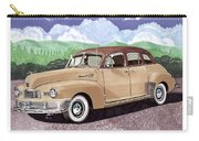 1947 Nash Statesman Carry-all Pouch by Jack Pumphrey