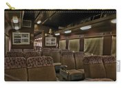 1947 Pullman Railroad Car Interior Seating Carry-all Pouch