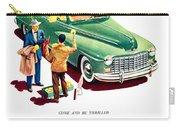 1948 - Dodge Automobile Advertisement - Color Carry-all Pouch
