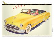 1948 - Oldsmobile Convertible Automobile Advertisement - Color Carry-all Pouch