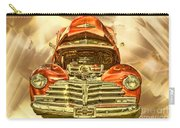 1948 Chev Red Gold Metal Art Carry-all Pouch