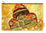 1948 Chevy Gold Acid Art Carry-all Pouch
