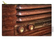 1948 Mantola Radio Carry-all Pouch